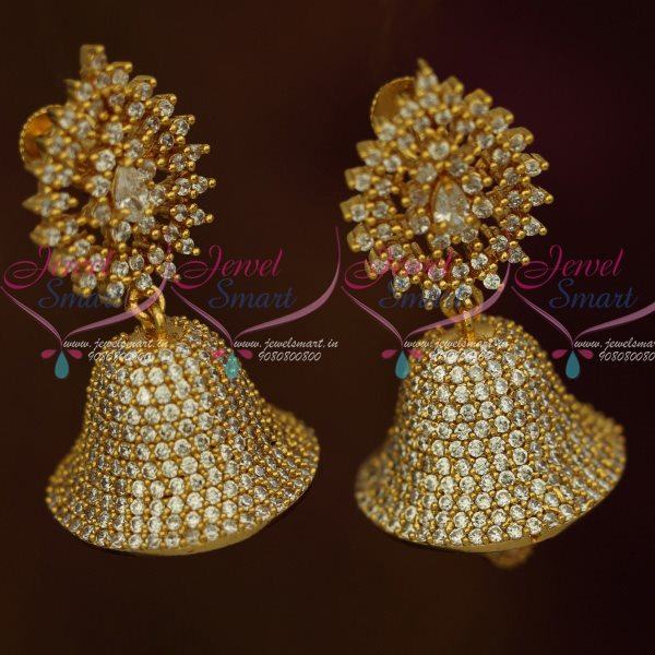 jewelry kundan com earrings indian swasam large polki shop store