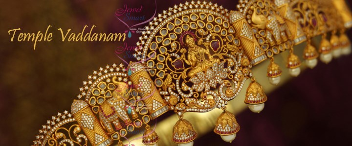 Latest Handmade Gold Design Traditional Vaddanam Bridal Jewellery Shop Online