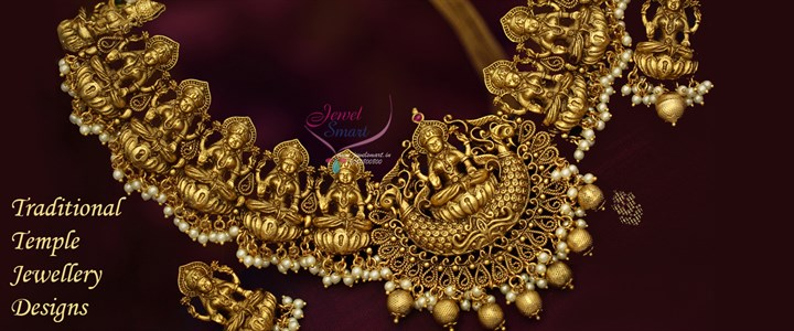 Traditional South Indian Temple Jewellery Collections Online
