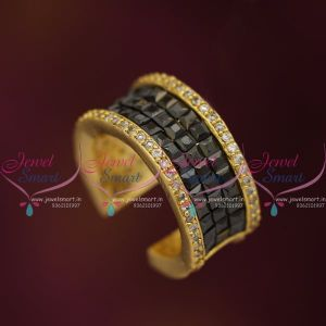 black-white-broad-finger-rings-invisible-setting-stones-latest-fashion-jewellery-designs