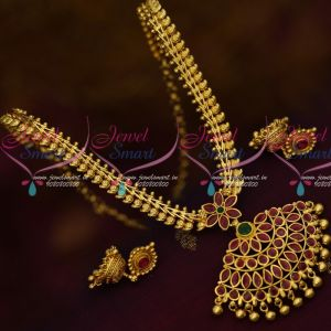 Mango Design Chain Broad Pendant South Indian Daily Wear Gold Plated Jewellery Online