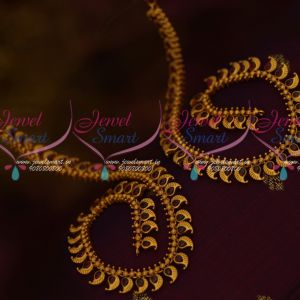 Kemp Semi Precious Stones Matte Gold Plated Anklets Payal Latest Trendy Jewelry Online