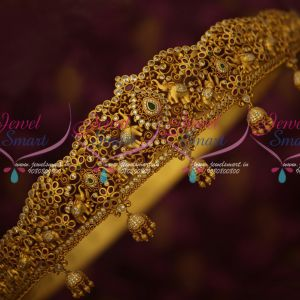 46 Inches Size Bridal Vaddanam Latest Matte Gold Plated AD Traditional South Indian Jewelry Online