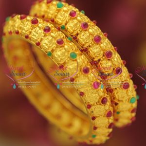 one-gram-gold-plated-real-look-laxmi-design-temple-kemp-bangles-collections-jewellery-online
