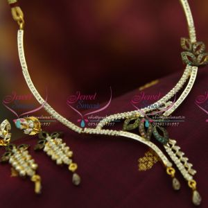 88a8bd97d5d NL3528 Latest Small AD White Stones Stylish Delicate Design Online Low Price