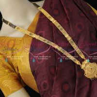 30 Inches 5 Line Black Beads Mangalsutra One Gram Gold Latest Traditional Premium Finish Jewellery Shop Online