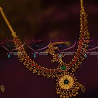 Kemp Round Red Green Stones Traditional Jewellery Damini Mathapatti Bridal Shop Online