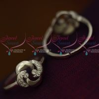 AD White South Indian Auspicious Jewellery 92.5 Silver Antique Toe Rings Metti Shop Online