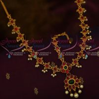Kemp Traditional Hair Jewellery Matha Patty Bridal Ornaments Red Green Stones Online