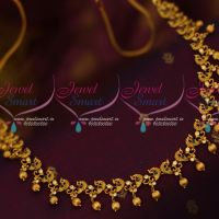Gold Plated Fashion Jewelry Matte Antique Reddish Peacock Hip Chains Latest