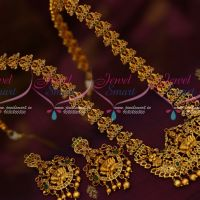Peacock Haram Temple Pendant Traditional Gold Inspired South Indian Jewelry Collections Online