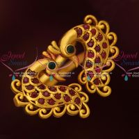 Peacock Antique Ruby Green Finger Rings Latest Low Price Fashion Jewelry Online