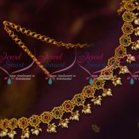 Kemp Stones Floral Low Price Fancy Chain Vaddanam TV Artists Jewellery Online