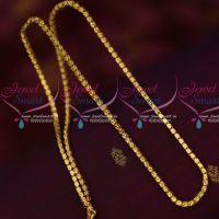 3 MM Box Chain Daily Use Imitation Jewelry Gold Design Shop Online