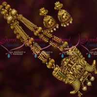 Tiger Nail Design Shiva Parivar Antique Beaded Traditional Imitation Jewelry Online