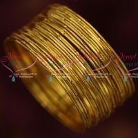 Thin Delicate 24 Pieces Bangles Set Daily Wear Jewellery Low Price Shop Online