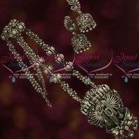 Silver Oxidised Plated Jewellery Lord Vishnu Dasavatharam Temple Collection Online