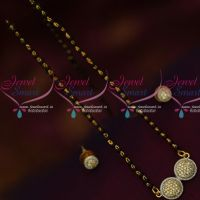 Single Line Simple Design Short Mangalsutra Traditional Indian Jewelry Online