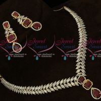 Diamond Jewellery Inspired Imitation Collections Latest Gold Plated Sparkling Stones