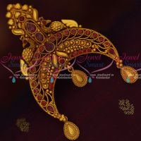 Matte Gold Reddish Plated Rakodi Bridal Hair Decoration Jewellery Online
