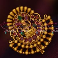 Temple Jewellery Hair Jada Billa Ruby Emerald Traditional Design Online