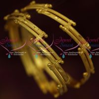 Fancy Gold Design Covering Bangles Daily Wear Jewellery Collections Online