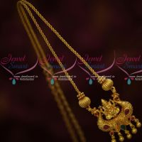 Temple Pendant Twisted Chain Latest South Indian Casual Wear Jewelry Online