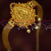 Temple Laxmi Design Nakshi Nagasu Indian Traditional Belt Vanki Wedding Jewellery