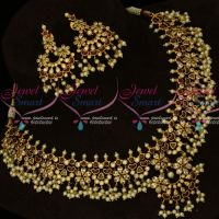 Real Kemp Gutta Pusalu South Indian Traditional Gold Finish Jewellery Online