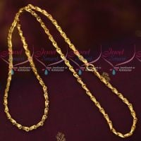 3.5 MM Traditional Gobi Design Chain Gold Covering South Indian Jewellery