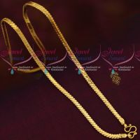 Daily Wear 18 Inches Bullet Model 4 MM Gold Covering Chains