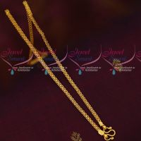 Daily Wear Jewellery Gold Design 18 Inches Chain Imitation Collections