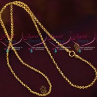Artificial Daily Wear Gold Covering Jewellery Traditional Model Chains Online