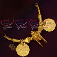 South Indian Gold Plated Thiru Mangalyam Thali Bridal Wedding Mangalsutra