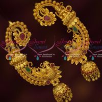 Temple Jewellery Gold Plated Temple Bluetooth Latest Traditional Concept Jewelry Online