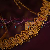 Bridal Grand Vaddanam Latest AD Stones Gold Inspired Intricately Designed Jewellery