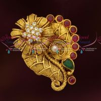 AD Jewellery Stylish Finger Rings Ungaram Latest Gold Plated Jewellery Online