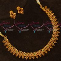 Latest Imitation Jewellery Fancy Floral Necklace Delicate Designs Online