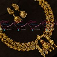 Tirupathi Balaji Temple Jewellery Broad Gold Antique Collections Intricately Designed