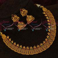 Gold Inspired Temple Jewellery Imitation Latest Nagas Collections Shop Online