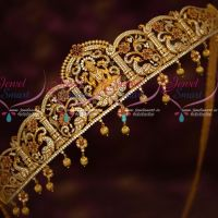 AD Stones Temple Bridal Jewellery Traditional Oddiyanam South Indian Designs Online