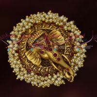 Antique Big Size Ganapathy Design Finger Rings Latest Traditional Designs