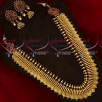 South Indian Traditional Coin Broad Gold Design Antique Haram Bridal Jewellery Collections