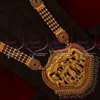 Ram Durbar Beads Design Antique Nagas Haram South Traditional Temple Jewellery Online