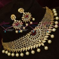 Simple Design Party Wear Imitation Choker Necklace Latest Trendy Collections