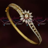 Beautiful Floral Design Party Wear Imitation Kada Latest Jewellery Collections