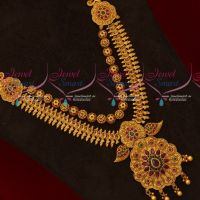 Gold Design Intricately Finished Haram Latest Multi Layer Jewellery Collections