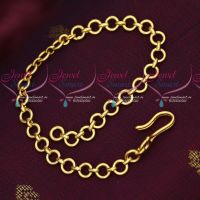 Gold Plated Waist Belt Extension Chain 1 MM Thick 6 MM Wide