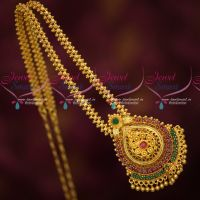 South Indian Jewellery Daily Wear Chain Pendant Latest Gold Covering Imitation Online
