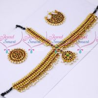 Low Price Beads Design Bridal Damini Hair Jewellery Classical Dance Imitation Collections